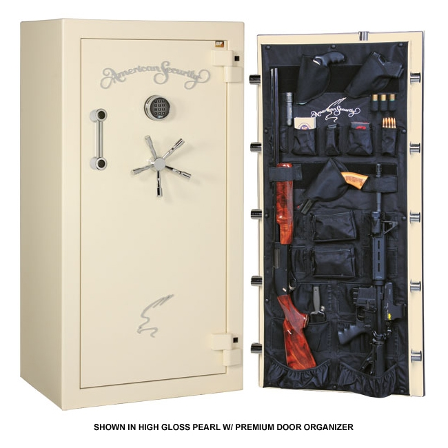 American Security BF6032 22 Gun 2 Hour Fire Resistant Safe - 13 Colors! - GSBF6032-Combo