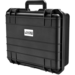 Barska Optics Loaded Gear, Hard Case - Loaded Gear,HD-300 Hard Case,Black,Strap