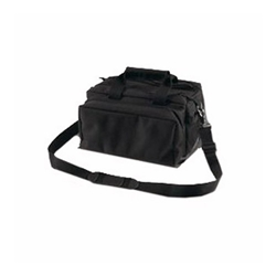 Bulldog Cases Black Range Bag - Dlx Blk Range Bag w/Strap