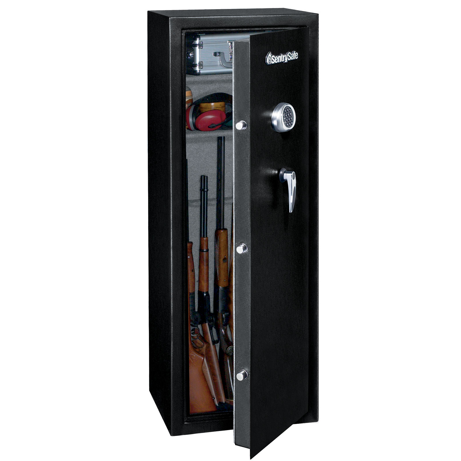 Sentry g1464e gun tall gun safe with electronic lock 14 for How to buy a home safe