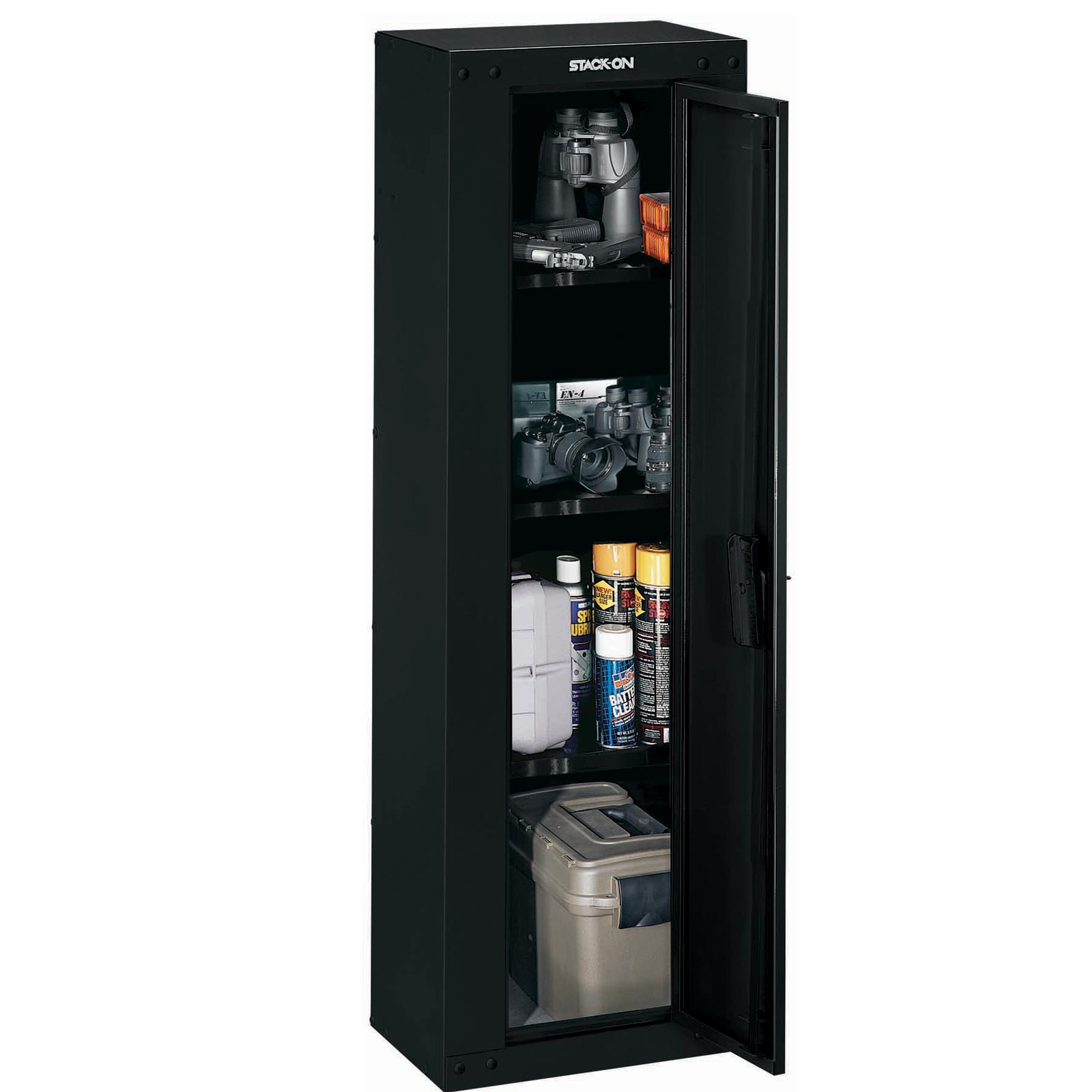 You Assemble Kitchen Cabinets: Stack-On GCB-5300RTA Pistol Cabinet Ready To Assemble