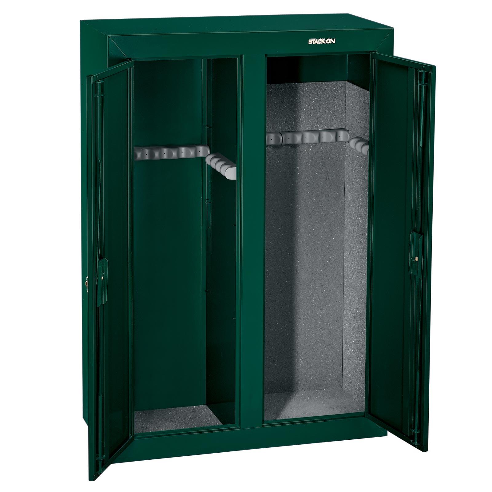 Stack-On GCDG-9216 Gun Cabinet Convertible Double Door ...