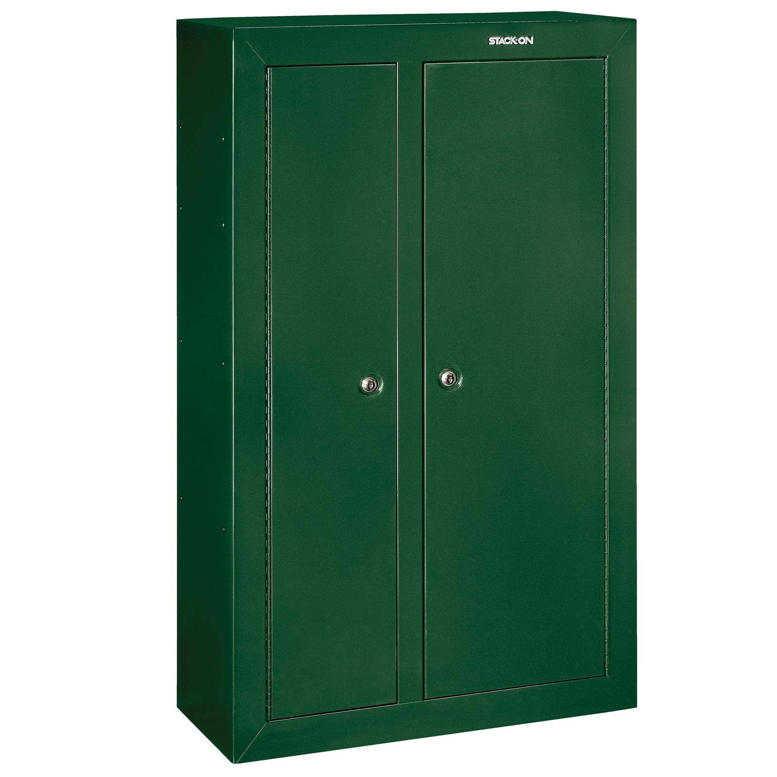 Stack on gcdg 924 gun cabinet double door security cabinet for 10 gun double door steel security cabinet