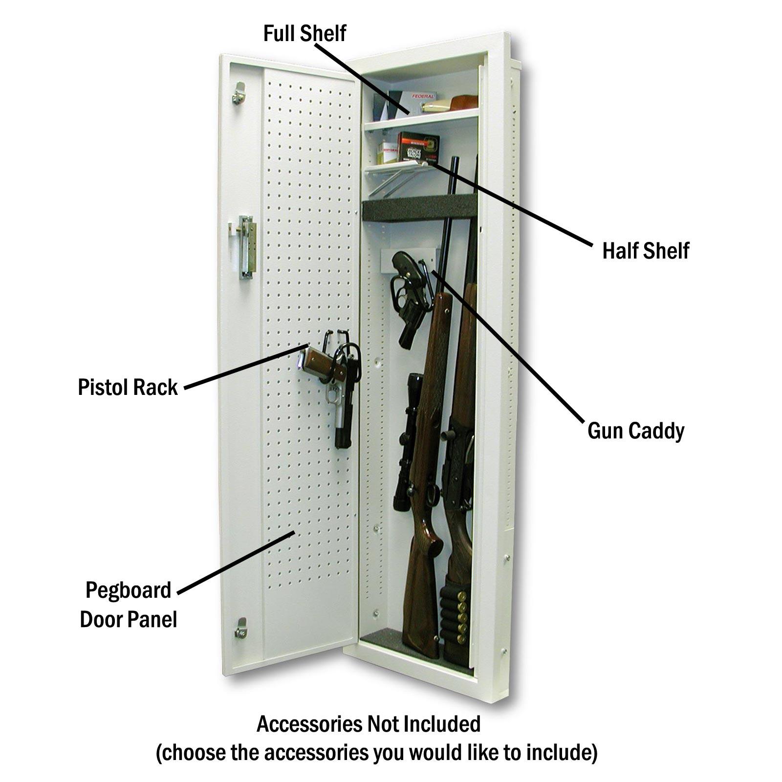 V Line 51653 Fs Adjule Full Shelf Add On For Closet Vault
