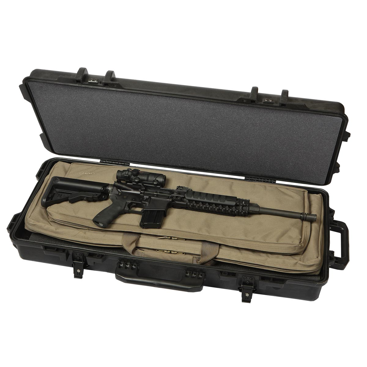 Boyt H36-TAC536 Hard-Sided/Soft Case Combo Carbine Case - H36-TAC536