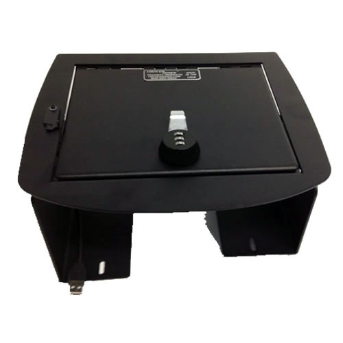 Locker Down Console Safe 2007 to 2013 Chevrolet Avalanche/Full Floor Console