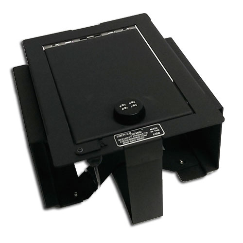 Locker Down Console Safe 2009 - 2012 Ford F150 w/ Full Floor Console (Will fit RAPTOR PLATINUM)