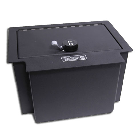 Locker Down Console Safe 2014 Chevrolet Silverado & GMC Sierra 1500 Also 2015 & 2016 1500, 2500 & 3500 Series Model LD2040