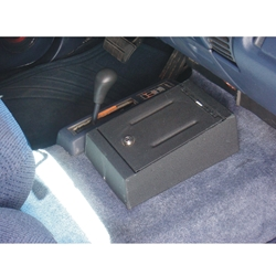 Shown installed in vehicle - closed