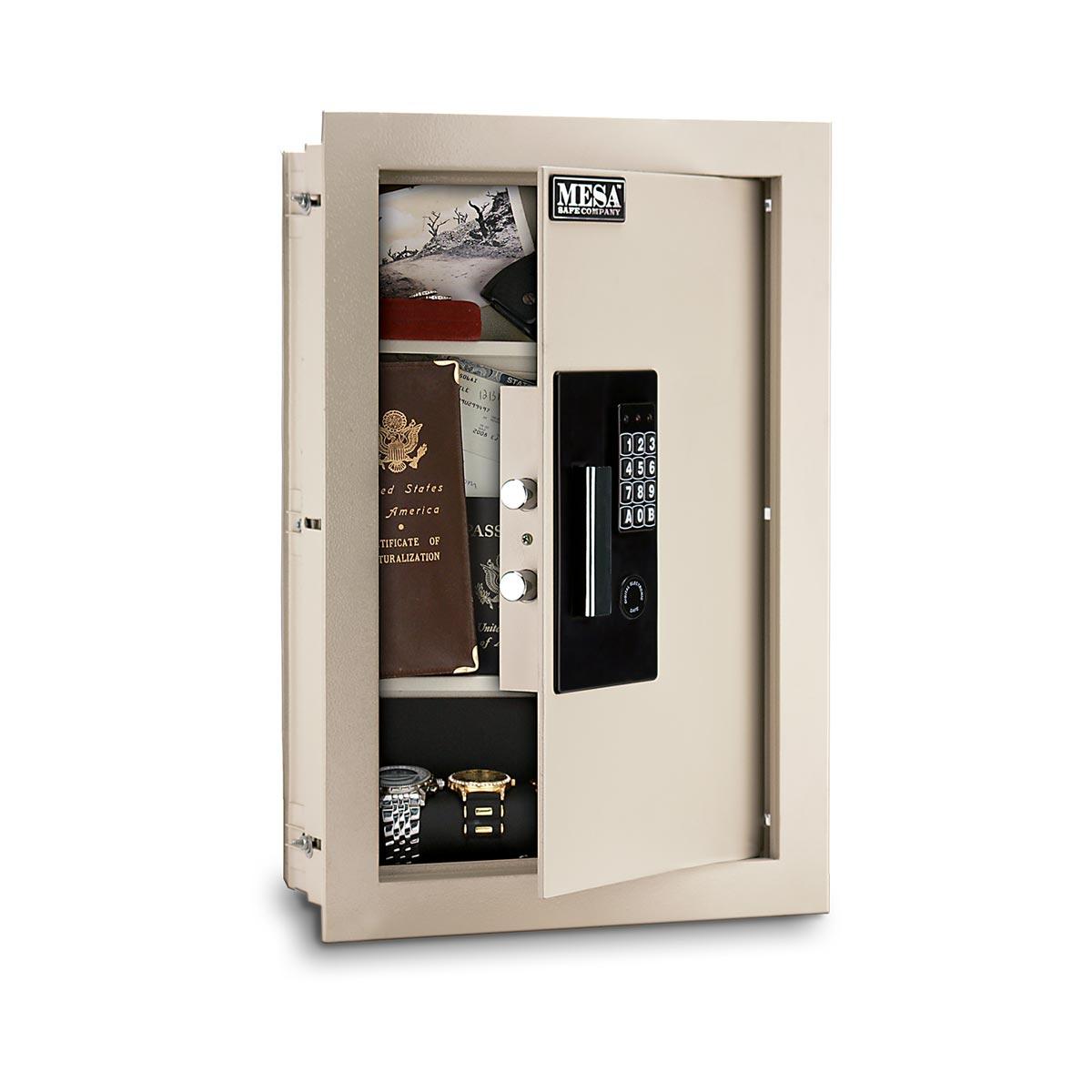 Safety For Safes : Mesa safes maws e safe adjustable wall gsmaws