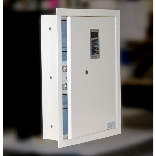wall safe pws1814e angle view open