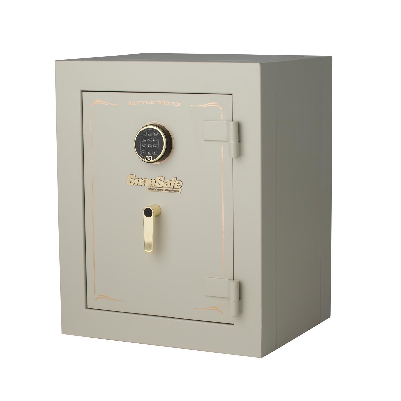Ready Gun Safe : Snapsafe little titan closet vault hour modular fire