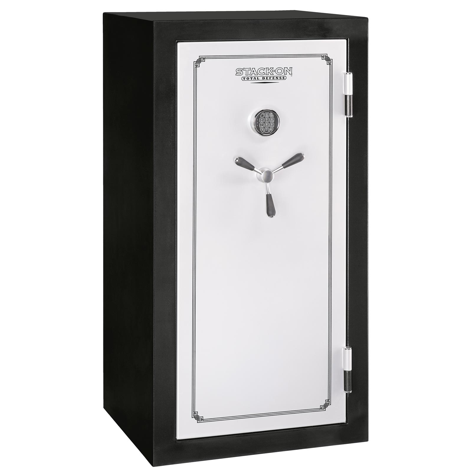 Stack-On TD-28-SB-E Fire & Water Resistant Convertible Safe w/ Electronic Lock - 28-Gun