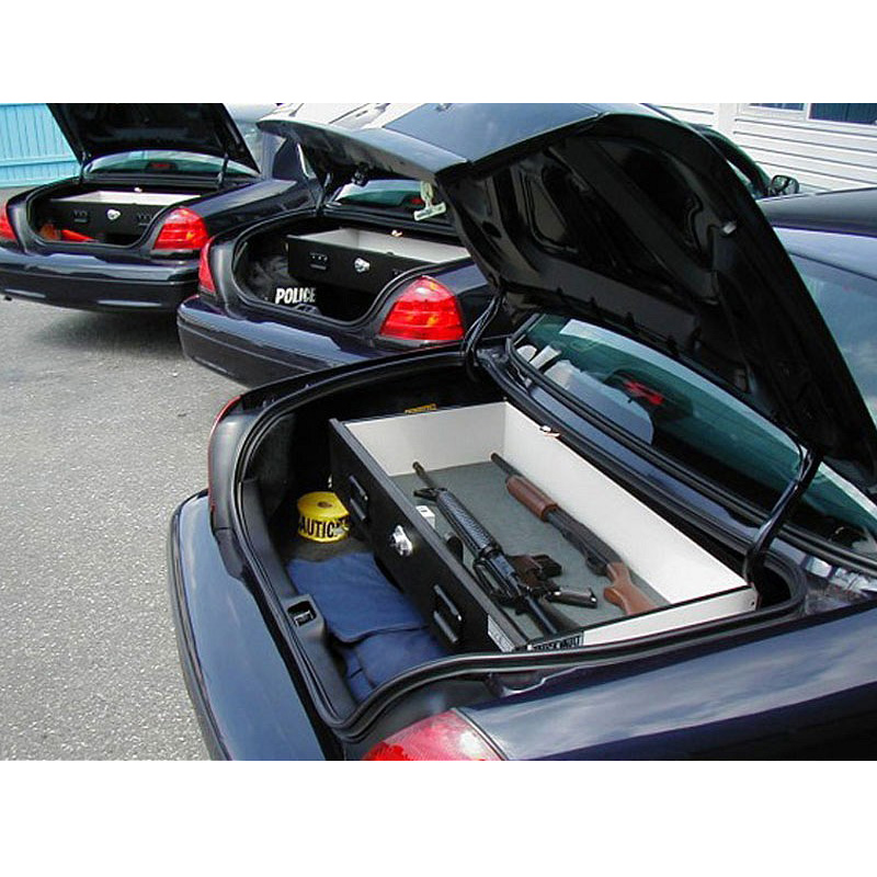 Shown installed in trunk