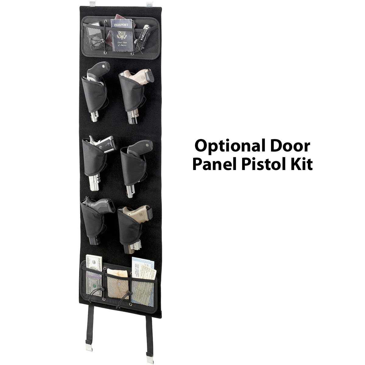 Door panel pistol kit