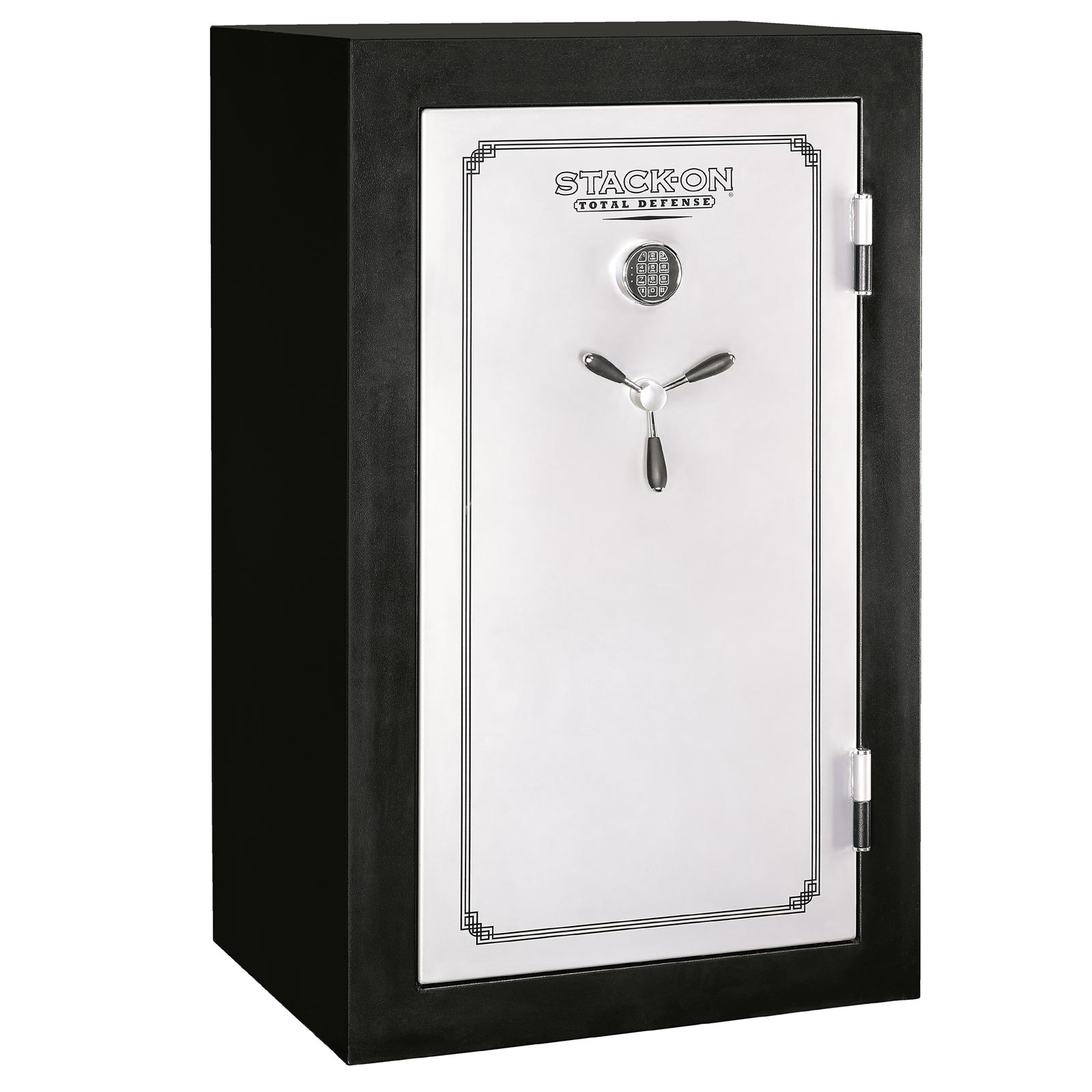 Stack-on TD-36-SB-E Fire Resistant & Waterproof Fully Convertible Safe w/ Electronic Lock - 36-Gun