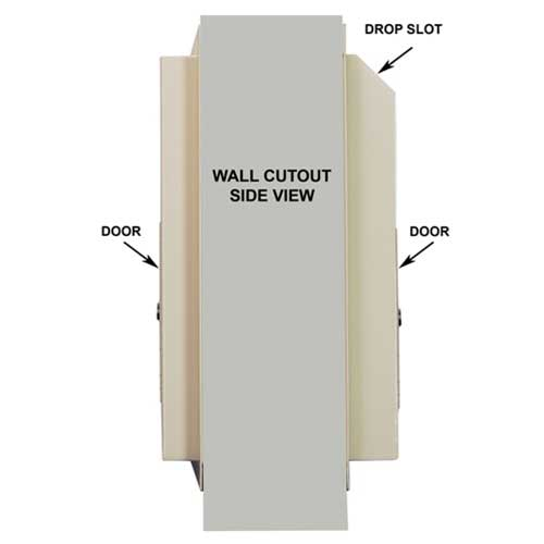 Wall cut out