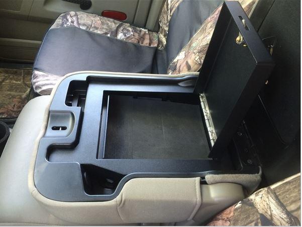 Lock'er Down Armrest Console Safe 2009 to 2010 Dodge Ram ...