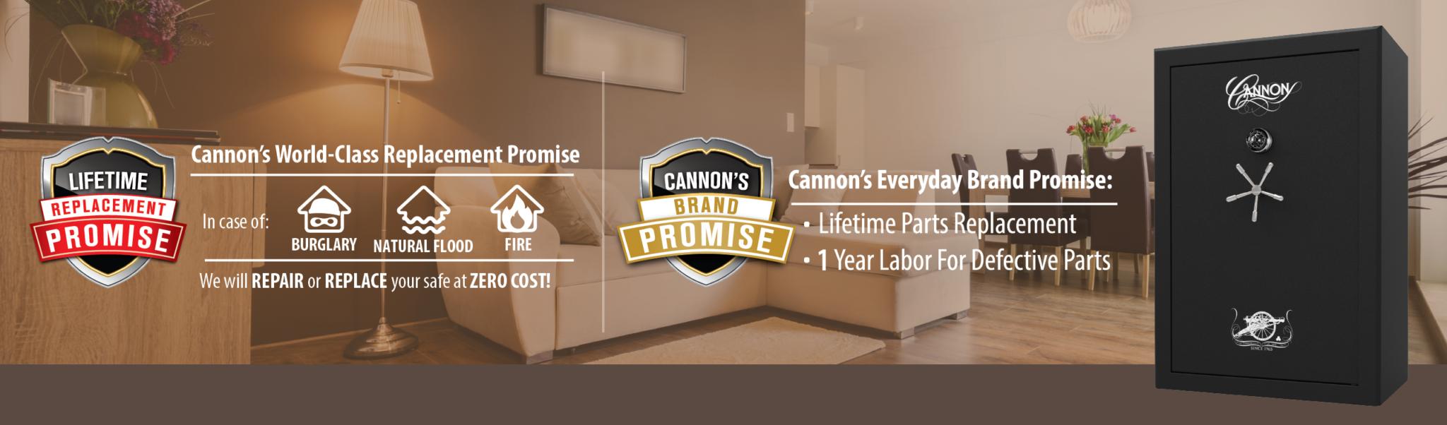 Cannon 2017 Premium Series Safe CA594024 Series: 48 Gun