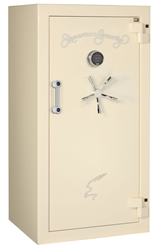 American Security - BF6030 - 11/11/22 Gun Capacity - 120 Min / 1200° - Quick Ship Gloss Pearl Essence Electronic Lock Safe