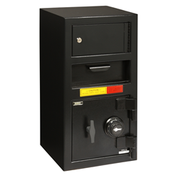 "American Security DSC2014KC - ""B"" Rated Front Loading Deposit Safe With Top Locker"