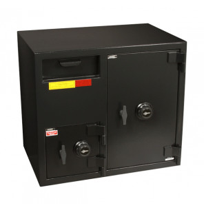"American Security DSF2731CC - ""B"" Rated Front Load Depository Drop Safe With Combination Entry Depository and Large Side Safe"