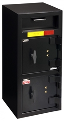 "American Security DSF3214KK - ""B"" Rated Front Load Depository Drop Safe With Dual Key Entry Doors"