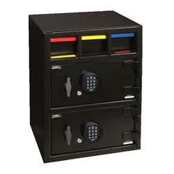 American Security MM28203 - Drop-E15 Money Manager II - Drop Double Door Deposit Safe