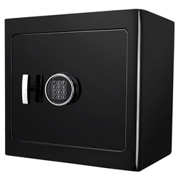 Barska AX13036 Black Jewelry Safe - Light Interior