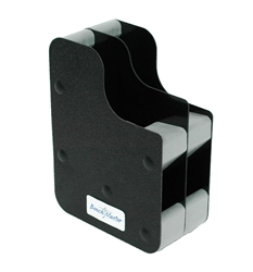 Benchmaster - 2 Gun Concealed Carry Vertical Pistol Rack