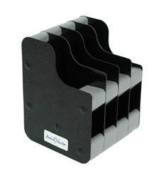 Benchmaster - 4 Gun Concealed Carry Vertical Pistol Rack