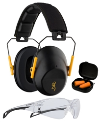 Browning BRNG Range Kit - Black/Gold browning, Shooting Glasses,range kit