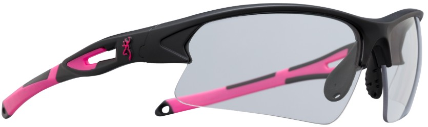 Browning On Point Shooting Glasses - Black/Pink browning, Shooting Glasses