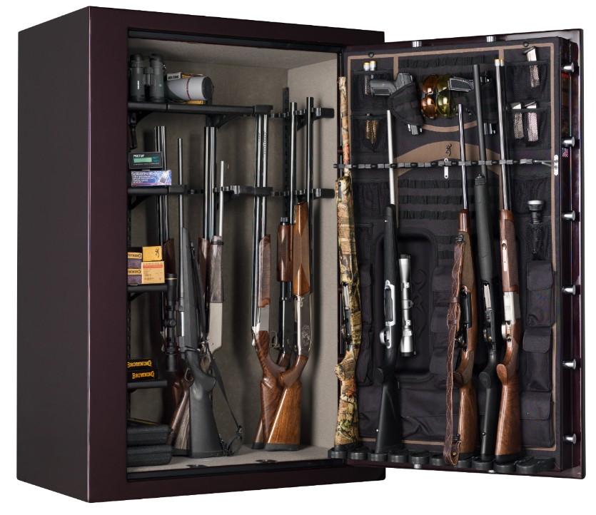 Browning Silver Series Sr49 Wide Gun Safe 49 Gun Safe Sr49