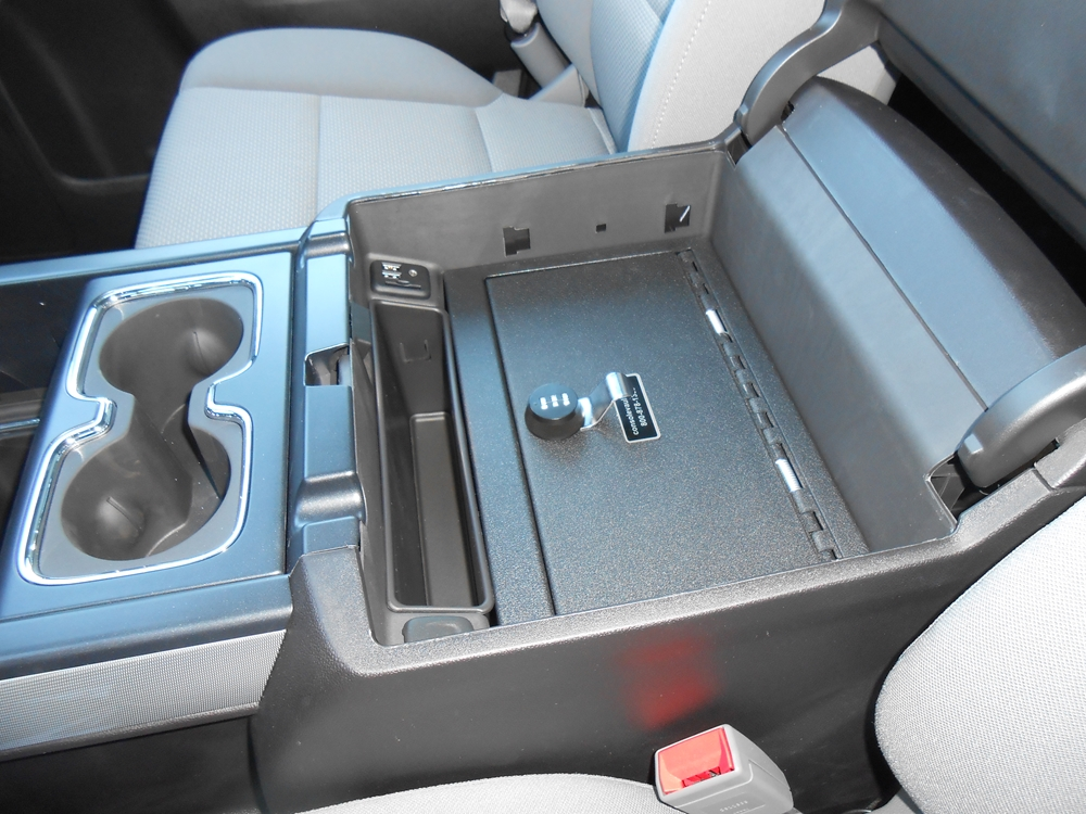Console Vault- Chevrolet Suburban Floor Console: 2015-2017 ...