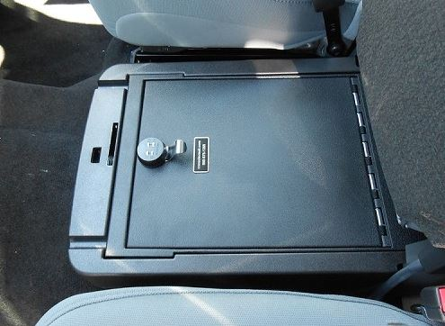 Console Vault Ford F250 Under Front Middle Seat: 2011 - 2015