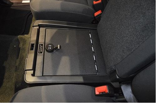 Console Vault GMC Sierra 2500/3500 Under Seat Console ...