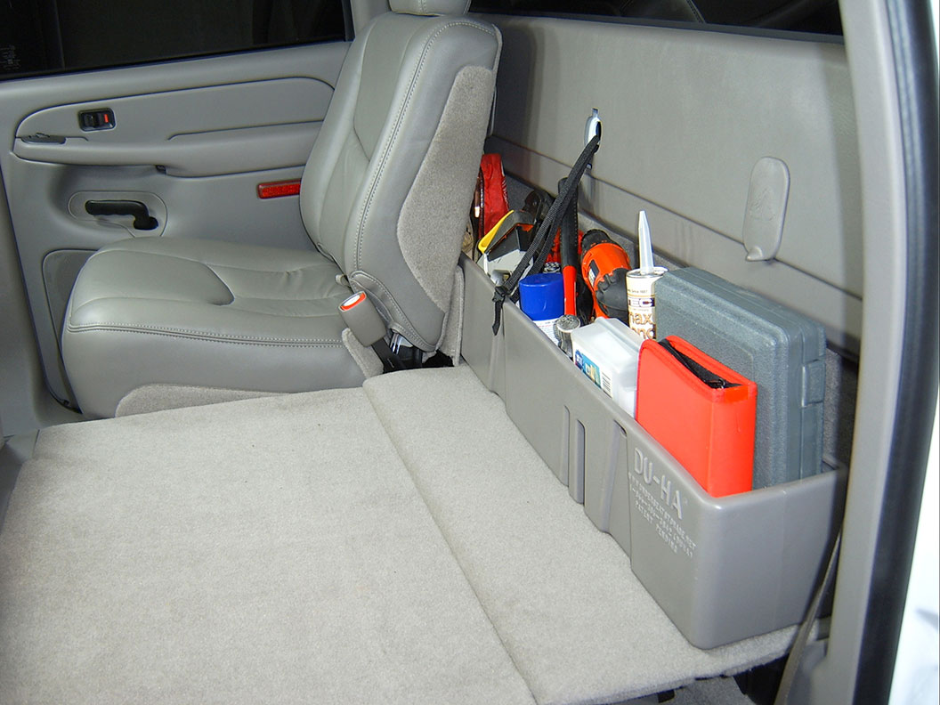 Behind The Seat Storage Gun Case 00 07 Chevrolet Gmc