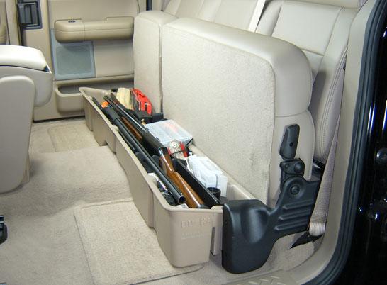 Underseat Storage Gun Case For 04 08 Ford 06 08 Lincoln