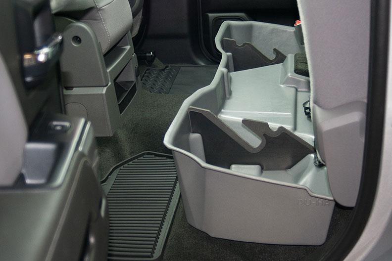 Underseat Storage-Gun Case Jet Black for 14-15 Chevrolet-GMC