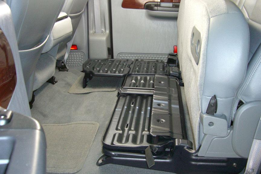 Truck Gun Rack Under Seat >> Gun Storage For Ford F | 2017/2018 Ford Reviews