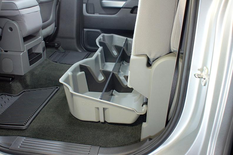 Underseat Storage Gun Case 14 17 Chevrolet Gmc