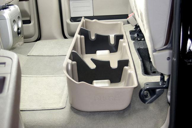 Du Ha Under Seat Storage Fits 09 14 Ford F 150 Supercrew Subwoofer