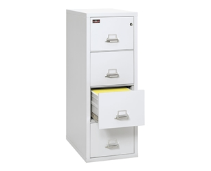 Fire King 2 Hour Rated File Cabinet 4 Drawers