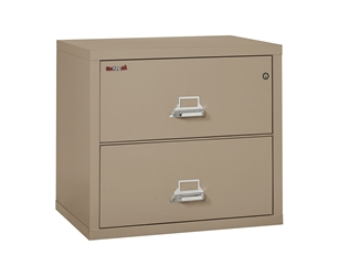 Fire King Classic Lateral File Cabinet 2 Drawers