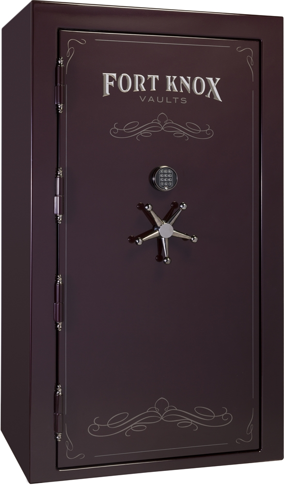 Black Gun Safe In Living Room Decor: Fort Knox 2017 Protector 7241 / 90 Minute Rating