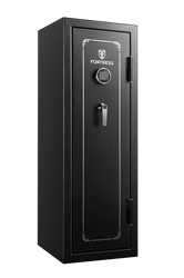 Fortress 14 Gun Fire Safe with E-Lock, Black