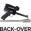 Gun Storage Solutions - Back-Over Handgun Hanger BOHH2 - 2 Pack