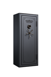 Heritage 24 Gun Fire and Water Safe with E-Lock, Silver Santex