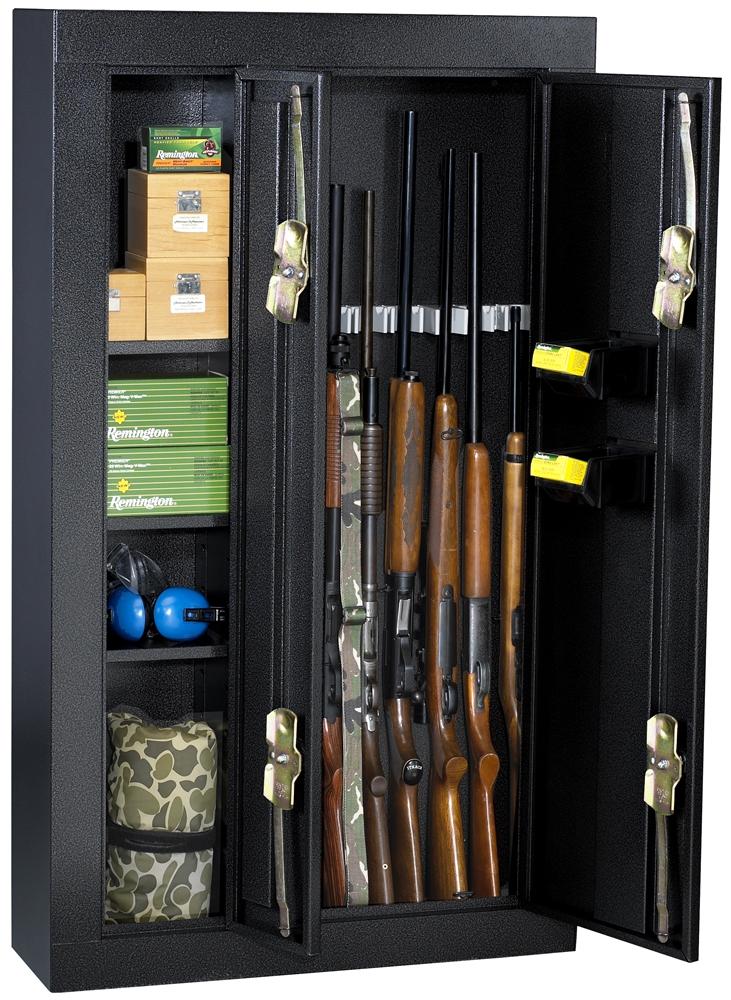 Gun Security Cabinet >> Homak Security Hs30136028 8 Gun Double Door Steel Security